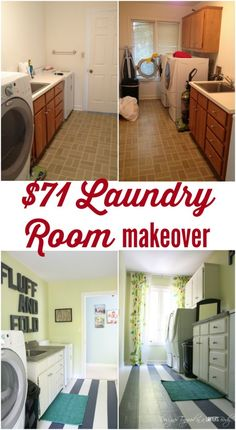Give your laundry room a makeover for under $100 with these easy and creative solutions