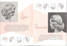 50s hair setting instructions by thenoirkitten, via Flickr