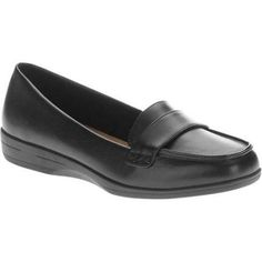 Women's Casual Canvas Slip On, Size: 6.5, Black