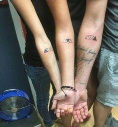 tatuajes para 3 hermanos brazo