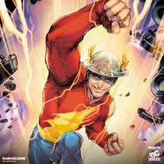 Jay Garrick Flash, Arte Dc Comics, Marvel Comics, Justice Society Of America, Design Comics, The Flash, Dc Universe, Justice League, Happy