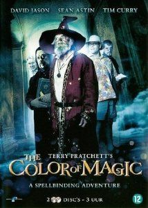 The Color of Magic - 2-DVD Set The Colour of Magic Terry Pratchett's The Colour of Magic Amazing World: Amazon.co.uk: Jeremy Irons, Brian Cox, James Cosmo, Christopher Lee, David Bradley, Geoffrey Hutchings, David Jason, Sean Astin, Tim Curry, Janet Suzman, Vadim Jean, CategoryArthouse,