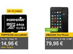 Allyouneed: Poppstar Micro-SDXC-Card mit 64 GByte für 14,95 Euro https://www.discountfan.de/artikel/technik_und_haushalt/allyouneed-poppstar-micro-sdxc-card-mit-64-gbyte-fuer-1495-euro.php Als Wochenend-Angebot ist bei Allyouneed ab sofort die Poppstar Micro-SDXC-Card mit 64 GByte für 14,95 Euro frei Haus zu haben. Die Rezensionen fallen für die Speicherkarte sehr positiv aus. Allyouneed: Poppstar Micro-SDXC-Card mit 64 GByte für 14,95 Euro (Bild;: Allyouneed.com) Die P