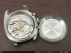 モバード MOVADO データクロン DATACHRON HS360 3レジスター クロノグラフ エルプリメロ搭載 自動巻き 2015年11月OH済明細書付属・L-2194 |時計の委託・アンティーウオッチマン