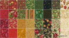 Holiday Flourish 9 Traditional Colorstory Ten Squares - Peggy Toole - Robert Kaufman — Missouri Star Quilt Co.