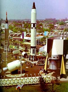 New York 1964 World's Fair - Technology