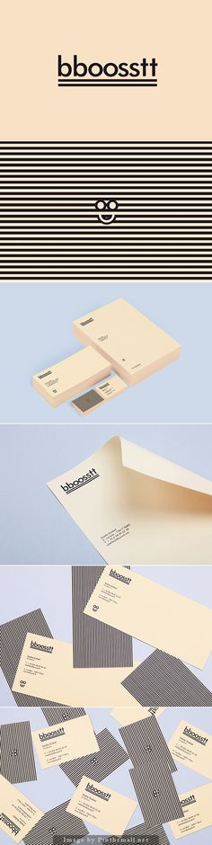 Corporate visual identity branding stationary business card letterhead with compliments card graphic minimal design