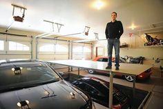 Turn your three-car garage into a four-car garage.