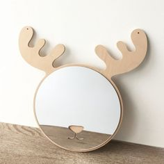 Nordic Wood Mirror Wall Sticker Children Room Home Decor Acrylic Decals Props Rooms Home Decor, Baby Room Decor, Kids Room Accessories, Kids Salon, Beach Theme Bathroom, Kids Room Paint, Baby Bedding Sets, Mirror Wall Stickers, Wood Mirror
