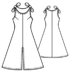 Sz. S-XL Free Dress Pattern