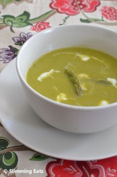 Asparagus Soup | Slimming Eats - Slimming World Recipes
