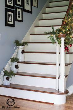 Farmhouse Stairs On Pinterest