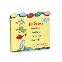 Dr. Seuss' One Fish Two Fish, Three, Four, Five, Fish! Board Book - buybuyBaby.com
