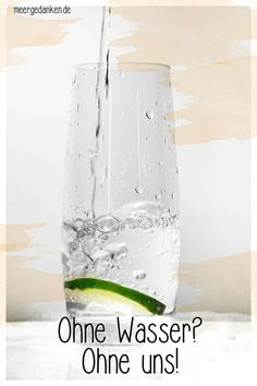 Ausreichend Wasser zu trinken ist sehr wichtig für uns. Mit Kräutern, Gemüse und Obst schmeckt es auch noch gut. Kraut, Challenges, Shower, 29 Days, Prints, Blogging, Green Tee, Lemon Balm, Drinking Water