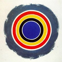 Kenneth Noland, That, 1958-1959, acrylic.    I love Noland's 'target' paintings but I don't quite know why. I was reminded of them recently when I bought a set of early Beethoven string quartets played on period instruments by the Quatuor Mosaiques. Each CD cover is a Noland. Marvellous. What have they got to do with Beethoven? I'm not sure, but I still love them.