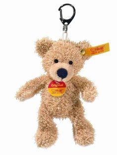 Steiff EAN 111600 Fynn Teddy Bear Keyring