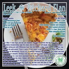 Healthy Dinner Recipes, Cooking Recipes, Healthy Meals, Healthy Food, South African Recipes, Eating Plans, Diet Plans, Quiche Recipes, Savory Snacks