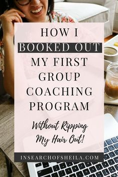 Launching your first paid offer or program doesn't have to be scary! Click here to learn how I launched my first group coaching program and booked it out in just 3 days! | launching tips for coaches | how to grow coaching program | how to sell out coaching program | business tips for coaches | entrepreneur tips | business tips for creative entrepreneurs | organic marketing tips | easy launch strategies