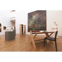 Ravenscroft Cross Leg Desk #interiordesign #woodman #furniture #homedecor #livingroom #home #designerfurniture