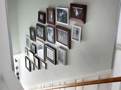 Disporre i quadri sulle scale (Foto 6/40)   Designmag