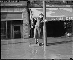 Haverhill flood. 1937. Boston Public Library via Flickr.