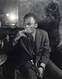 Miles Davis, Salle Pleyel, Paris, 1946 - Photo by Jean-Pierre Leloir