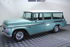 - 1968 INTERNATIONAL HARVESTER TRAVELALL 1000 FRAME OFF RESTORED! VERY RARE