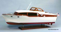 1954 Chris Craft Commander Model Boat Kit By Dumas Model