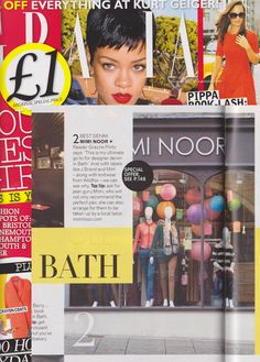 We are super excited to be featured in this week's Grazia!     To celebrate we are offering all our lovely customers 20% off everything.    Simply enter grazia20%off whehn checking out online or state the code in store at Mimi Noor to claim.     Happy shopping!     MN HQ x  www.miminoor.com