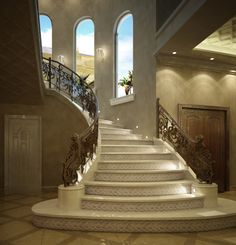 Tile Stairs, Home Decor, Staircases, Decoration Home, Room Decor, Home Interior Design, Home Decoration, Interior Design