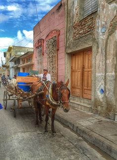 In the back streets of Camaguey Cuba