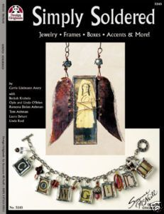SIMPLY SOLDERED-Altered Books-Jewelry-Collage Art Book