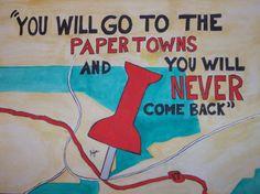 Paper Towns by John Green John Green Novels, John Green Books, Book Tv, Book Nerd, Movie Quotes, Book Quotes, Paper Towns Quotes, An Abundance Of Katherines, John Green Quotes