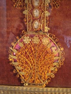 Reliquary Saint Mary Magdalene Quilling And Other Saints
