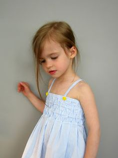 A smocked dress tutorial review by Straight Grain// for Best of Summer with CailaMade