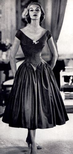 Jean Patchett, 1950's Elegant Look.