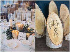IDÉES ET INSPIRATIONS Pour un mariage d'hiver Inspiration for a winter wedding - Pépites d'amour - Le blog des amoureux Wedding Table, Rustic Wedding, Wedding Day, Christmas Stencils, Winter Wedding Inspiration, Beautiful Mind, Communion, Winter Wonderland, Diy And Crafts