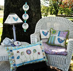 Dress Your Nest Collection DIGITAL PATTERN by Jacquelynne Steves