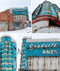 Abandoned Duke Theatre (then Starlight Lanes bowling) in Detroit, MI