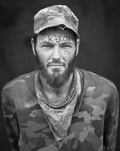 Photographer Michael Joseph takes portraits of homeless kids who hitchhike on trains in America. Sauce: http://www.michaeljosephphotographics.com/lost-and-found - Album on Imgur
