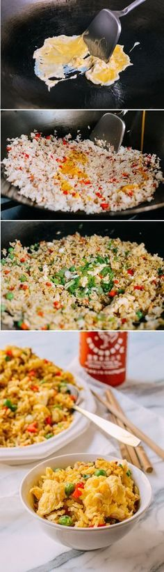 Egg Fried Rice Recipe #egg #friedrice #dinner