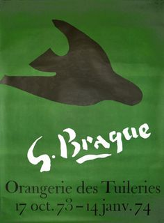 Moderne Montmartre - Braque - G. Braque Green (1973) by Anonymous