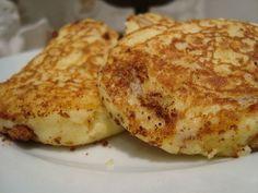 Galettes de pomme de terre  à la ciboulette et au fromage frais - Les travaux de Caro