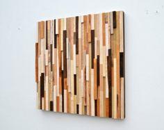 Parete in legno arte  scultura in legno arte  di WallWooden