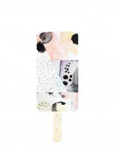 Nynne Rosenvinge - Art #45 Peach│Poster from theposterclub.com