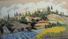 Village provençal du vaucluse