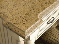 Durable Engineered Stone Countertops    An attractive alternative to natural stone, engineered stone countertops — composed of 93 percent quartz particles — are catching up with granite in popularity. LG Viatera quartz countertops combine the elegant look of stone with increased durability. Quartz countertops are scratch-, stain- and heat-resistant and require very little maintenance.