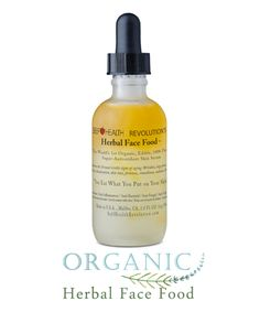 Herbal Face Food has a powerful scent. The plant concentrates in Herbal Face Food give off an herbal smell. This aroma creates clarity to the user.