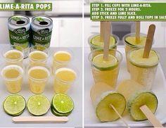 Lime a Rita Popsicle!