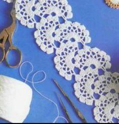 Picasa Web Albums. Crochet stitch Crochet Borders, Crochet Stitches, Carnations, Neck Warmer, Cowl Neck, Crochet Earrings, Gardening, Jewelry, Flower